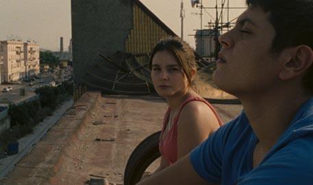 Una scena del film L'intervallo