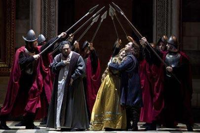 Simon Boccanegra, Stagione 2012/2013, Foto: Lelli e Masotti,  © Teatro dell'Opera di Roma