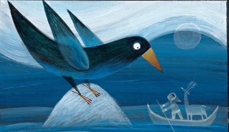 Filippo Brunello, Grande corvo forma la terra