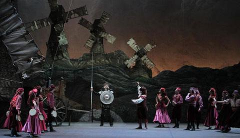 Balletto Don Chisciotte di Ludwig Minkus