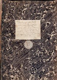 F.M.Piave, libretto autografo