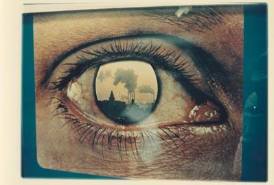 Luigi Ghirri (Scandiano 1943 – Reggio Emilia 1992, Italy), Senza Titolo, dalla serie: Paesaggi di Cartone (1971–74), 1971, stampa cromogenica su carta al polietilene, cm 14,5X20,5 (immagine) - cm 18,5x23 (foto)
