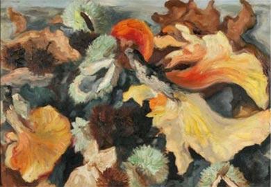 Carlo Levi, Natura morta d'autunno, 1943