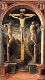 Vincenzo Foppa, I tre crocifissi, 1450 ca