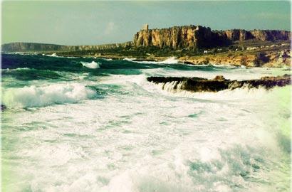 Sicilia, Italia aprile 2012. Riserva dello Zingaro (Trapani), dove ebbe luogo l'episodio dell' Isola del Sole. © Stefano De Luigi