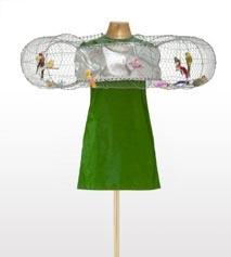 A. R. de la Prada, Vestido Jaula