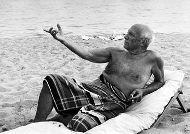 Lucien Clergue, Pablo Picasso, s.d.© Lucien Clergue