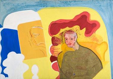 Carmelo Zotti: Miss Leslie, 1960, 120x170cm
