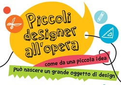 Piccoli designer all'opera