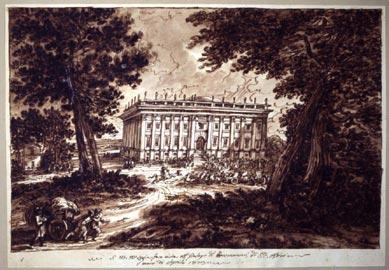 S.M.M Luigia fece visita al palazzo di Montmoranci