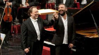 Riccardo Chailly e Stefano Bollani
