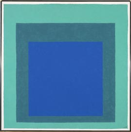 Josef Albers, Homage to the Square (1976), ©2013 The Josef and Anni Albers Foundation/Artists Rights Society New York