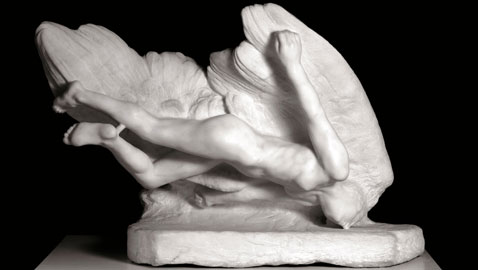 Auguste Rodin Illusione, sorella di Icaro 1894-1896 © Musée Rodin, Parigi. Foto di Christian Baraja