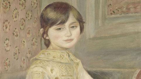 Pierre-Auguste Renoir, Julie Manet (anche detto Bambina con gatto), 1887, Olio su tela; 65,5 x 53,5 cm, Paris, MusÈe d'Orsay (RF 1999 13), © HervÈ Lewandowski RMN-RÈunion des MusÈes Nationaux/ Distr. Alinari