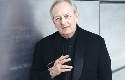 Andre Previn - Photo Lillian Birnbaum