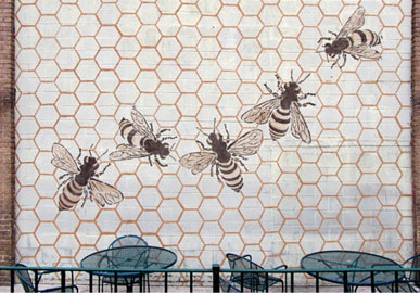 Jesse Graves, Honeybee, mud graffiti