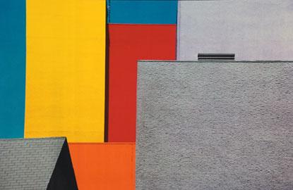 Franco Fontana, Los Angeles, 1990 Raccolta della fotografia, Galleria civica di Modena © Franco Fontana