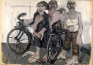 Tino Vaglieri, Biciclette, 1955