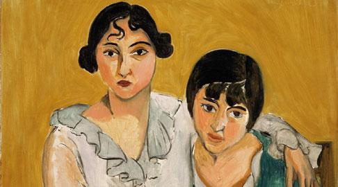 Henri Matisse: Le due sorelle, 1917 Olio su tela, cm 78,4 x 91,4. Denver Art Museum Collection© Succession H. Matisse, by SIAE 2013