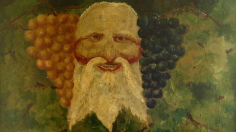 Dipinto dell'artista Natale Amica. Negli anni Trenta la tavola era nella cantina del poeta Antonio Ungaro - © Bit Culturali