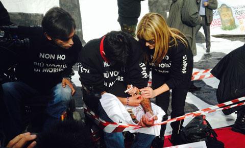 Roma manifestazione curarsi non è un reato - 11 © Foto di Diego Pirozzolo