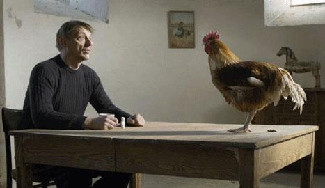 Una scena del film La quinta stagione