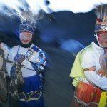 """Andes, Uomini con la maschera, chiamati Ukuku (""""orsi""""), Qoyllur Ritti, Perù 2004 © Kazuyoshi Nomachi"""