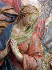 Natività con angeli, Scuola dell'Italia settentrionale, XVII secolo