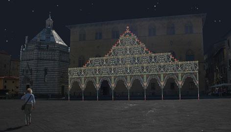Pistoia, piazza Duomo