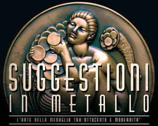 Logo mostra Suggestioni in metallo
