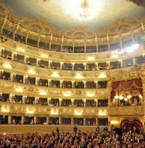 Teatro La Fenice interno della sala
