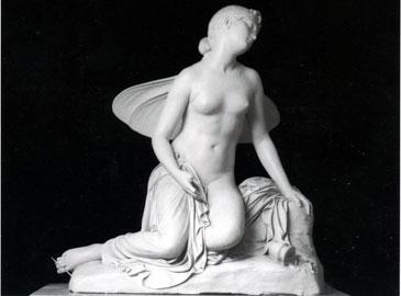 Pietro Tenerani, Psiche svenuta gesso, 1822, Museo di Roma