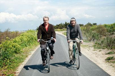 Una scena del film Molière in bicicletta