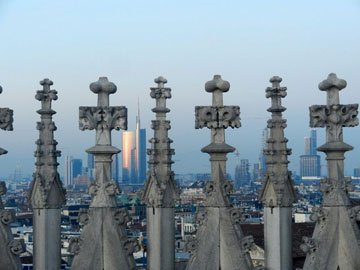 Skyline dal Duomo, di Aurelio Bonadonna