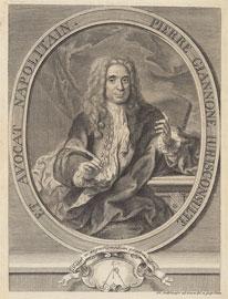 PietroGiannone, incisione di Jeremias Jakob Sedelmayr