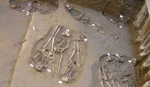 Necropoli rinvenuta sotto gli Uffizi di Firenze