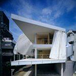 Curtain Wall House, 1995, Tokyo, Japan, Photo by Hiroyuki Hirai