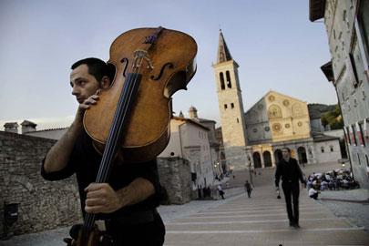 Spoleto – Festival Due Mondi, musicista
