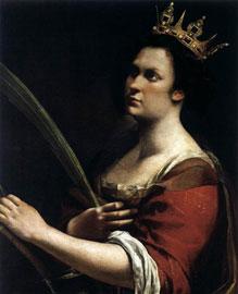 La Santa Caterina di Artemisia Gentileschi