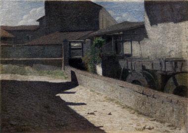 Pellizza da Volpedo, Vecchio Mulino a Volpedo, 1903