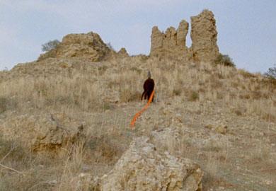"""Chapters"" di Haris Epaminonda, film su pellicola 16 mm. Durata: 4 ore circa Sonoro di 'Part Wild Horses Mane On Both Sides', 2013"