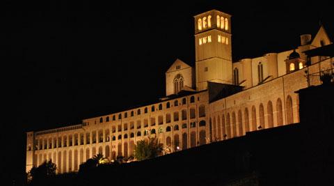 Italia, Assisi, Basilica San Francesco, credit Fotografo Rosella Bovini