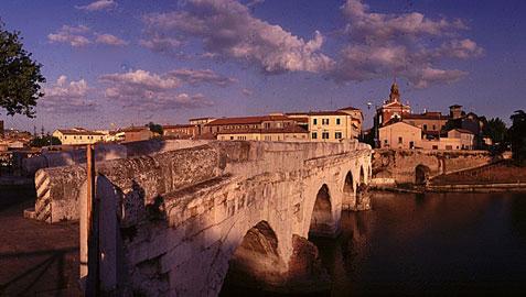Rimini monumentale, ponte di Tiberio