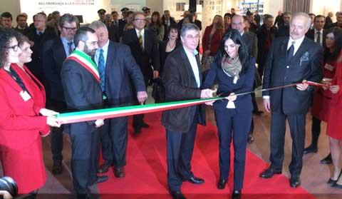Inaugurazione del Salone del Restauro di Ferrara