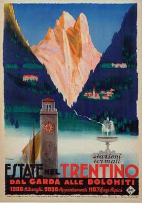 G. Riccobaldi, Estate nel Trentino, 1930