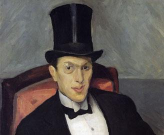Miroslav Kraljević, Bonvivant (Ritratto di Ante Masovčić), 1912, olio su tela, cm 91,5 x 65,5, Galleria d'Arte Moderna di Zagabria