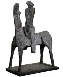 Marino Marini, Idea del Cavaliere, 1955, bronzo, Museo del Novecento Milano
