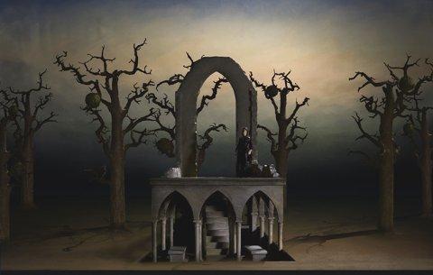Una scena della Norma di Bellini