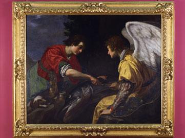 Tobia e l'Angelo di Jacopo Vignali