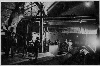 I lavori per la stazione sotterranea Ca' di Landino, collezione di Giovanni Degli Esposti